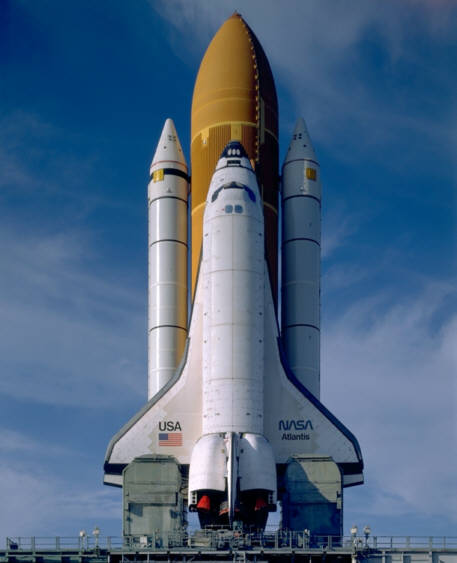 THE STS (SPACE TRANSPORTATION SYSTEM) CLICK ON THE PART OF WHICH YOU'D LIKE TO RECEIVE MORE INFOS